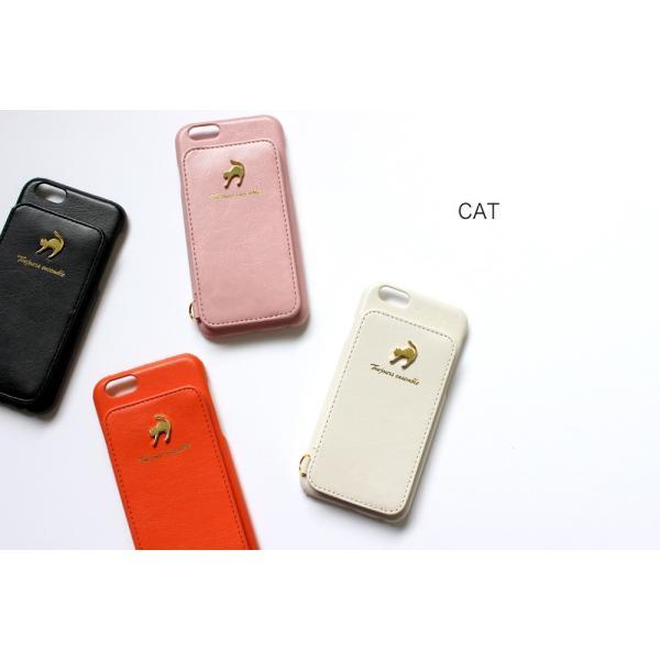 1000円ポッキリ iPhone6s iPhone6 ケース カード背面収納 鏡付き ストラップ付|advan|19