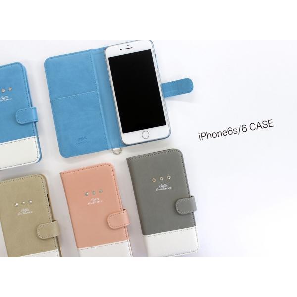 1000円ポッキリ iPhone6s iPhone6 ケース 手帳型 スワロフスキー|advan|02