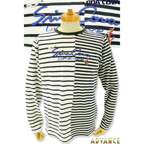 シナコバ Tシャツ 長袖 セール 2019春夏新作 メンズ 日本製 19120020-920|advance-selectshops