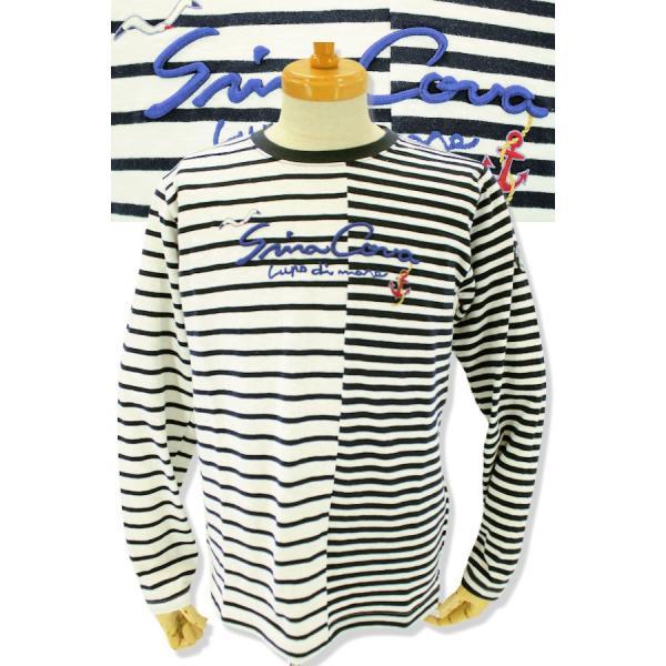 シナコバ Tシャツ 長袖 セール 2019春夏新作 メンズ 日本製 19120020-920|advance-selectshops|06