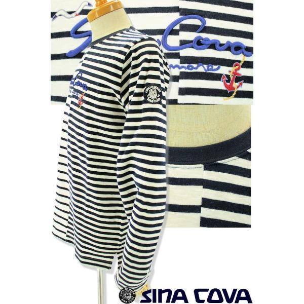 シナコバ Tシャツ 長袖 セール 2019春夏新作 メンズ 日本製 19120020-920|advance-selectshops|02