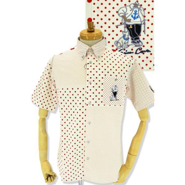 シナコバ シャツ 半袖 ゴルフ セール 2019春夏新作 メンズ 19124520-960|advance-selectshops|07