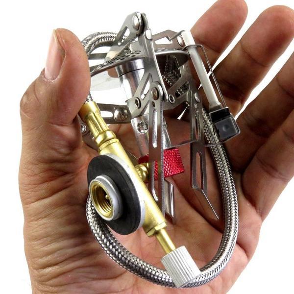 折畳みシングルバーナー 高火力 高出力 ガスバーナー アウトドア ストーブ 小型 ポータブル コンパクト ソロ キャンプ アウトドア 3000w|advanceworks2008|07