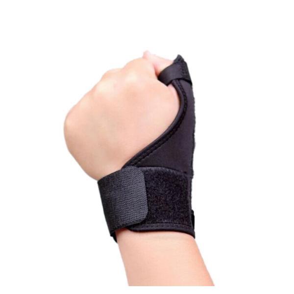親指 手首 サポーター 親指保護 ばね指 腱鞘炎 突き指 手首固定 関節炎 関節痛 関節症 捻挫 骨折 脱臼 等 フリーサイズ 1枚 左右兼用 advanceworks2008 02