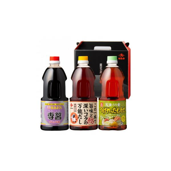 (送料無料)(代引き不可)ヒシク藤安醸造 さつま料亭の味セット advanceworks2008