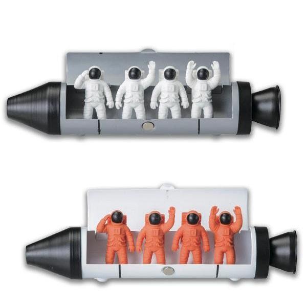 (送料無料)セトクラフト ペンケース&消しゴム(スペース) ホワイト・SI-3661-WH-220