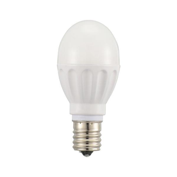 (送料無料)OHM LED電球 小形 E17 60形相当 電球色 12個入 LDA6L-G-E17IH2112