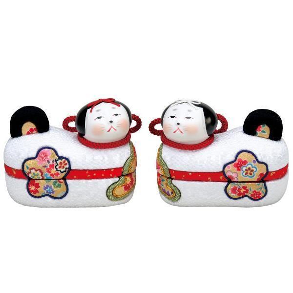 (送料無料)01-799 木目込み人形 お伽犬 セット