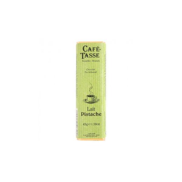 (送料無料)(代引き不可)CAFE-TASSE(カフェタッセ) ピスタチオミルクチョコ 45g×15個セット