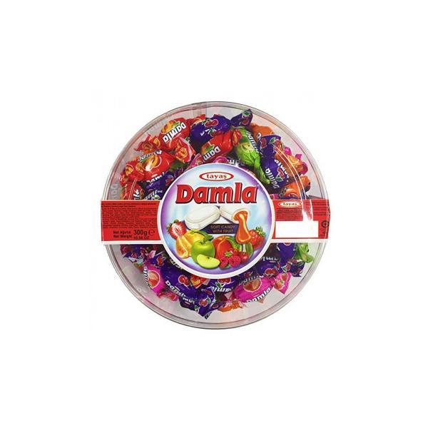 (送料無料)(代引き不可)tayas(タヤス) ダムラ フルーツソフトキャンディ 300g×24セット