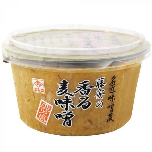 (送料無料)(代引き不可)藤安の香る麦味噌 300g 6個セット