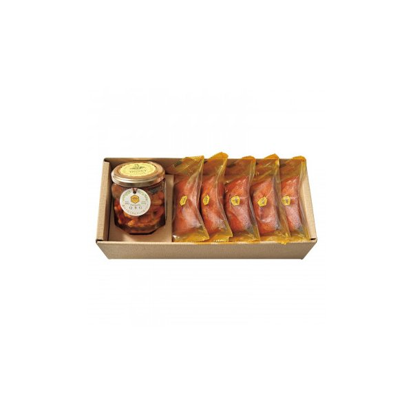 (送料無料)(代引き不可)パティスリーQBG 森のぐだくさんナッツのはちみつ漬け&フィナンシェA 90007-05