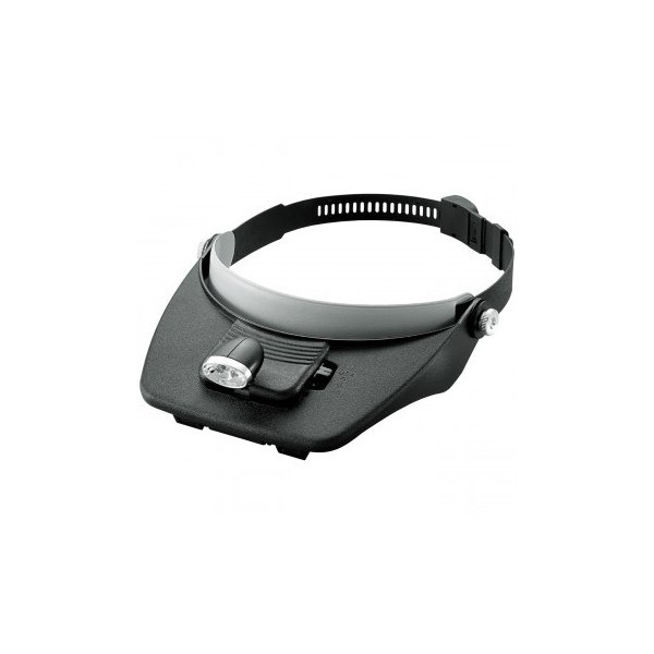 (送料無料)LEDライト付ヘッドルーペバイザー AY-2021 3136-407