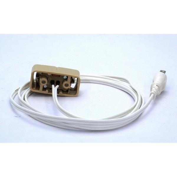 引掛シーリングコンセント変換コード PEEX-1-W コード:白|adwecs|04