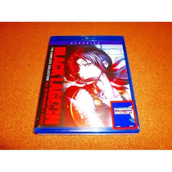 新品BD ブラックラグーン 全24話+OVA全5話BOXセット 新盤 北米版|adws