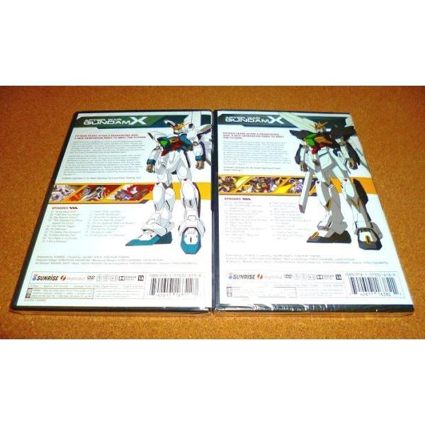 新品DVD 機動新世紀ガンダムX 全39話セット 国内プレイヤーOK adws 02