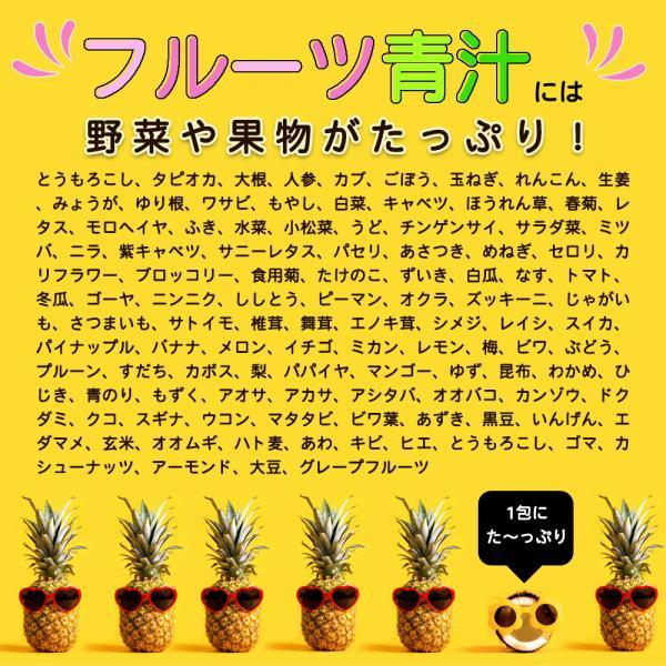 【フルーツ青汁:1か月分】90g(3g×30包)青汁 酵素 ダイエット 健康 フルーツ 118種の酵素  国産 ポイント消化 ワンコイン 送料無料|aemotion|04
