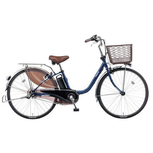 2/9(金)-12(月)イオンバイクならエントリーで最大P26倍! パナソニック ビビDX 2017年モデル BE-ELD633 USブルー 26型 内装3段変速|aeonbike