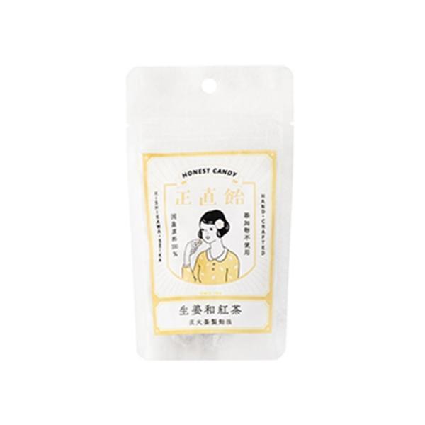 岸川製菓 正直飴 生姜和紅茶 45g