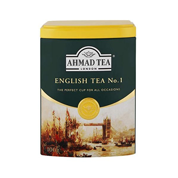 AHMAD TEA ( アーマッドティー ) イングリッシュティーNo.1 リーフ 100g [ 英国ブランド ] afan-mori