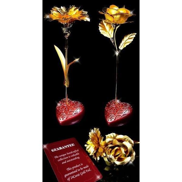 3万円→83%OFF 純金の薔薇ばらの花 純金のカーネーション  純金の薔薇ブローチ 純金証明付き  プレゼント|again|05