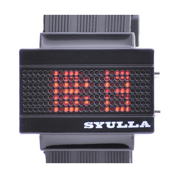 SYULLA (シュラ)★シリコンリストバンドウォッチ★LED腕時計!|again|02