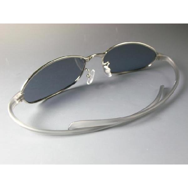 形状記憶樹脂アーム/偏光サングラス AGAIN アゲイン/サングラス メンズ UV 100% カット again 04