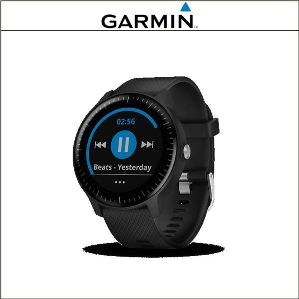GARMIN (ガーミン)  vivoactive 3 Music Black ヴィヴォアクティブ スリー ミュージック ブラック