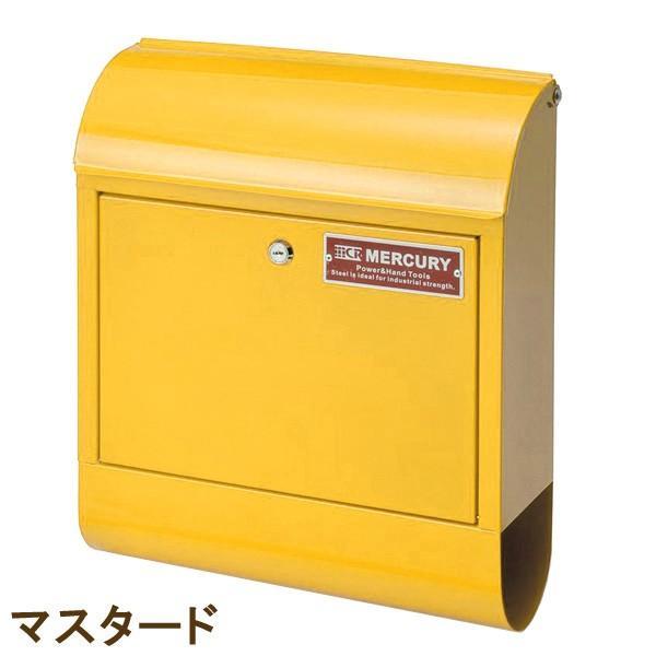 壁掛けポスト おしゃれ 郵便ポスト MERCURY マーキュリー メールボックス MCR MAIL BOX 郵便受 C062 ポスト MEMABO 送料無料 新生活|age|12