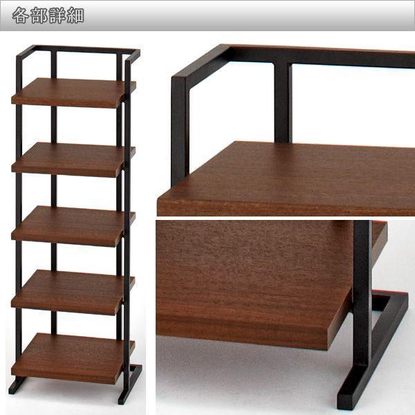 完売致しました。 日本製 で高品質な スリッパラック棚型 スリッパをお洒落に収納 JMS-004 寺内町 ( スリッパスタンド 国産 収納 玄関 アイアン ) 新生活|age|05