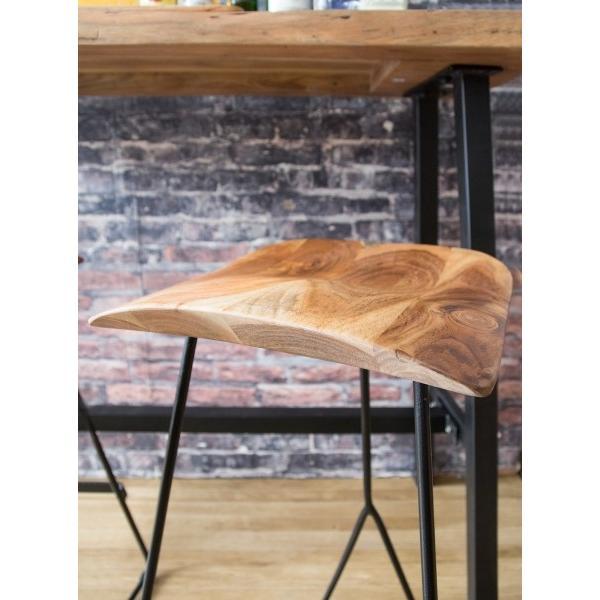 カウンタースツール MASALA マサラ カフェスツール おしゃれ 天然木スツール スツール バースツール ハイスツール 椅子 イス バーチェア ハイチェア knc-l611 age 06
