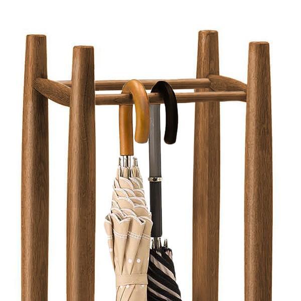 送料無料 オーク材 木製 傘立て ( 傘立 傘たて アンブレラスタンド ) オーク7521 オーク8521 新生活|age|05