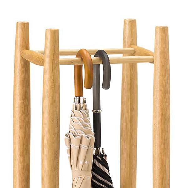 送料無料 オーク材 木製 傘立て ( 傘立 傘たて アンブレラスタンド ) オーク7521 オーク8521 新生活|age|08