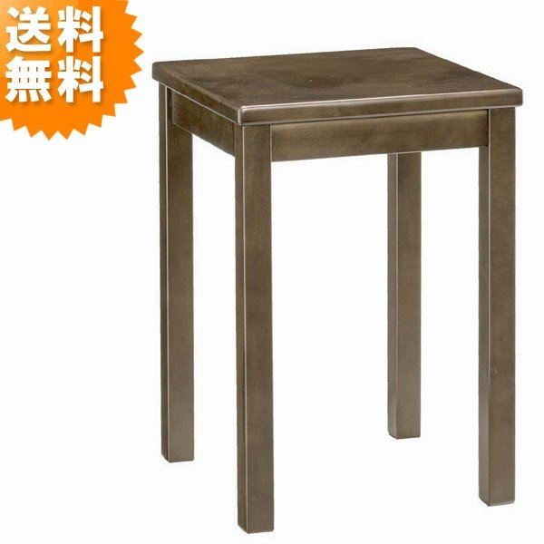 スタンド おしゃれ サイドテーブル 花台 木製 スパーダ 5121 spada コンパクト シンプル オシャレ お洒落 ブラウン|age