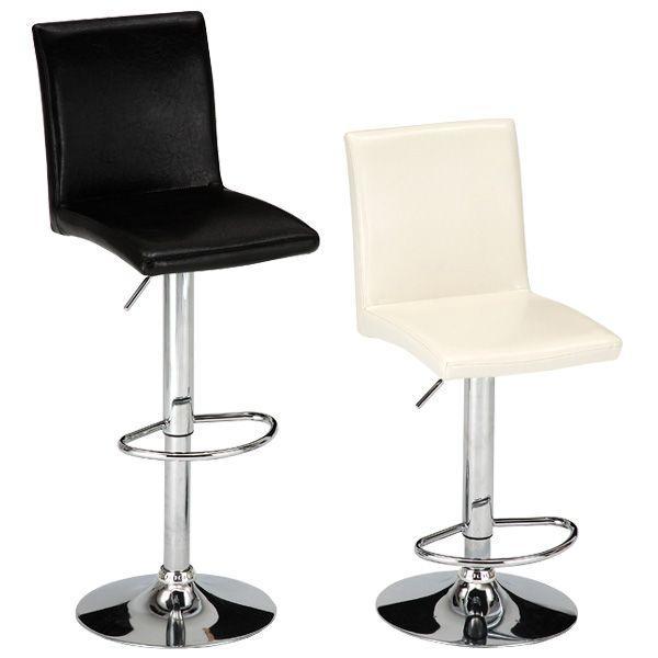 【 送料無料 】ブラック のみ  レザー カウンターチェアー ( ダイニングチェア バーチェア ハイチェア 椅子 イス いす シンプル モダン ) TCC431 TCC439 age