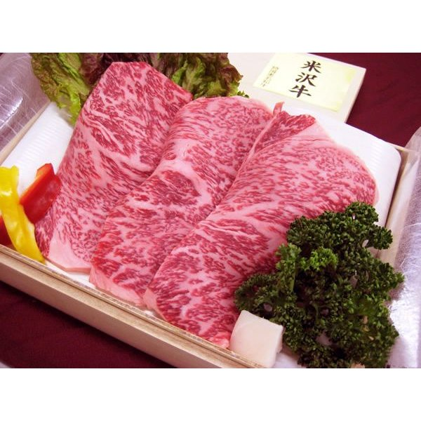 最高級熟成米沢牛 A5等級メス サーロイン すき焼き用 450g 桐箱入