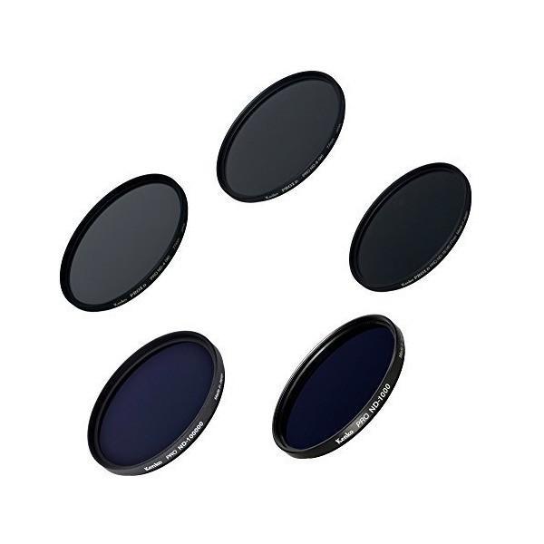 Kenko レンズフィルター NDフィルター クリエイティブセット 77mm NDフィルター5枚セット 003985