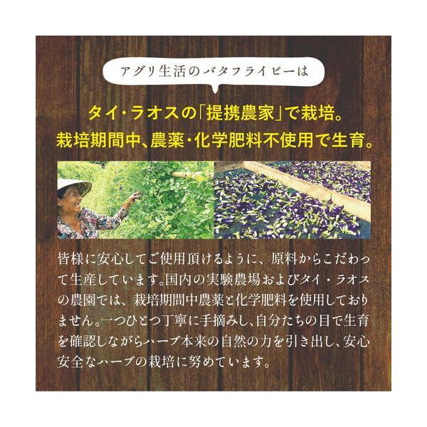青:バタフライピー エキスパウダー 水溶性 15g 食用色素 天然 着色料  ナチュラル 青色 ブルー ハーブ粉末 自然色 お菓子作り|agri-life|08