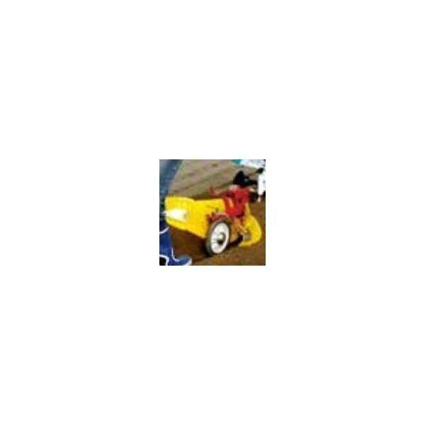 クボタ 耕運機 TMC200/TMS30用ニューイエロー培土機(尾輪付)A (91223-40410)