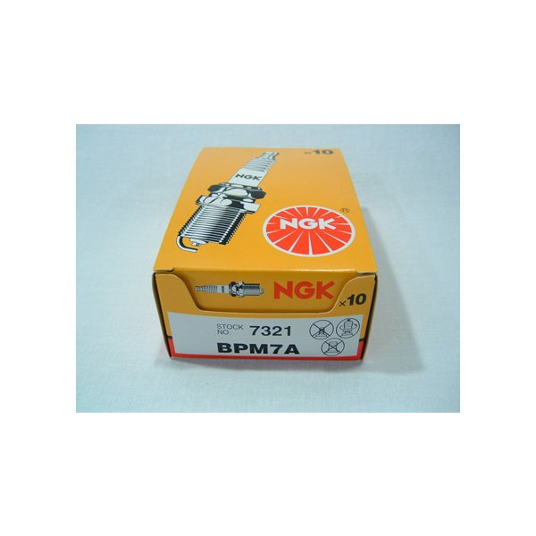 (草刈機)(刈払機)(チェンソー)に最適な点火プラグ(BPM7A)(NGK)5本入 agriz