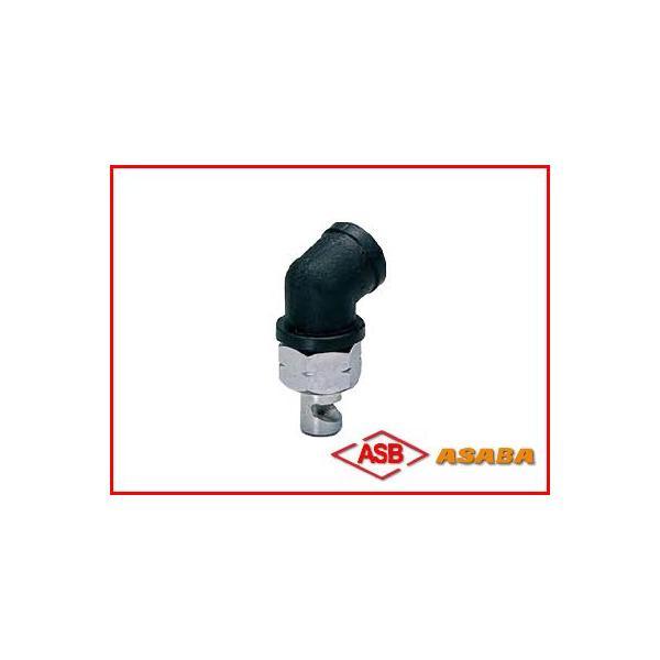 アサバ(麻場) 除草剤噴口(エルボ樹脂) G1/4(噴霧器・噴霧機・動噴・防除用)