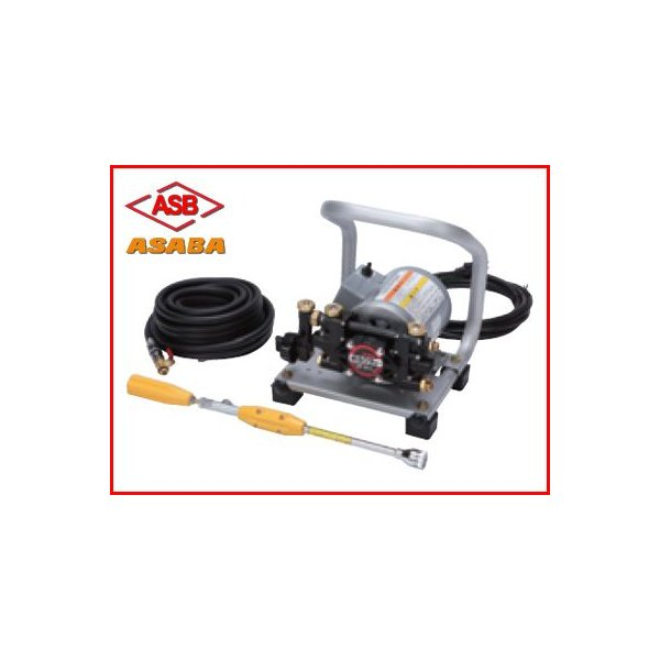 動力噴霧器 電動 動力噴霧器 アサバ(麻場) 小型モーター動噴 MP-391A(60Hz)