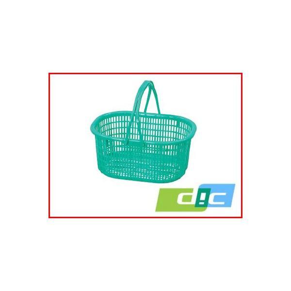 DIC ニチエイ 収穫カゴ 緑 410×320×185Hmm 農業資材 園芸用品 家庭菜園 ガーデニング
