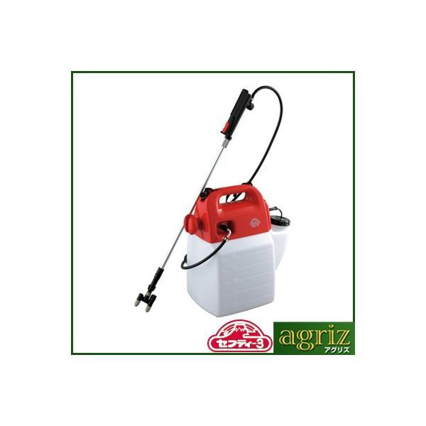 噴霧器 電動 噴霧器 セフティ-3 電気式噴霧器 10L SSA-10