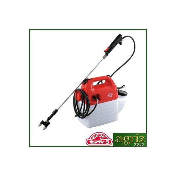 噴霧器 電動 噴霧器 セフティ-3 電気式噴霧器 5L SSA-5
