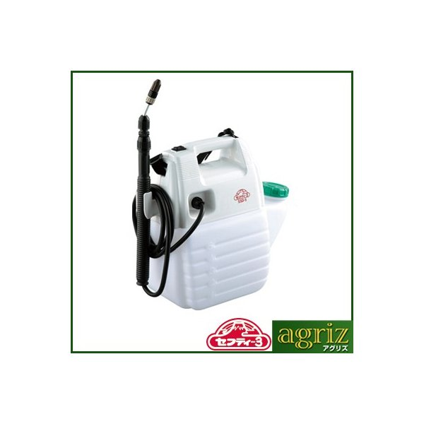 噴霧器 電池式 噴霧器 セフティ-3 電池式噴霧器 5L SSD-5