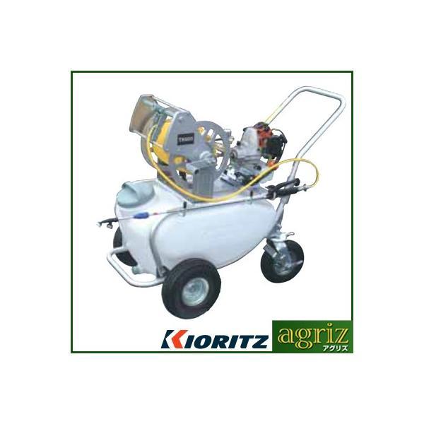 動力噴霧器 エンジン式 動力噴霧器 共立(やまびこ) タンクキャリー動噴 TK800-5(50Lタンク・5mm×50mホース付)