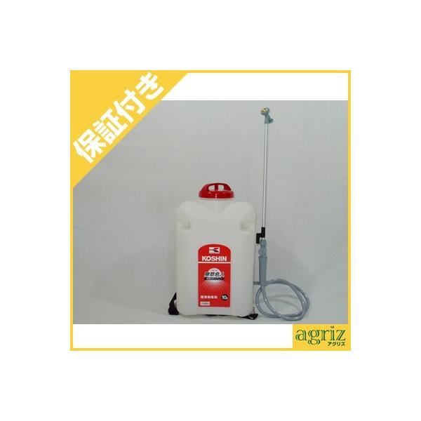(プレミア保証付) 工進 電池式噴霧器 除草名人 JS-10(10L)