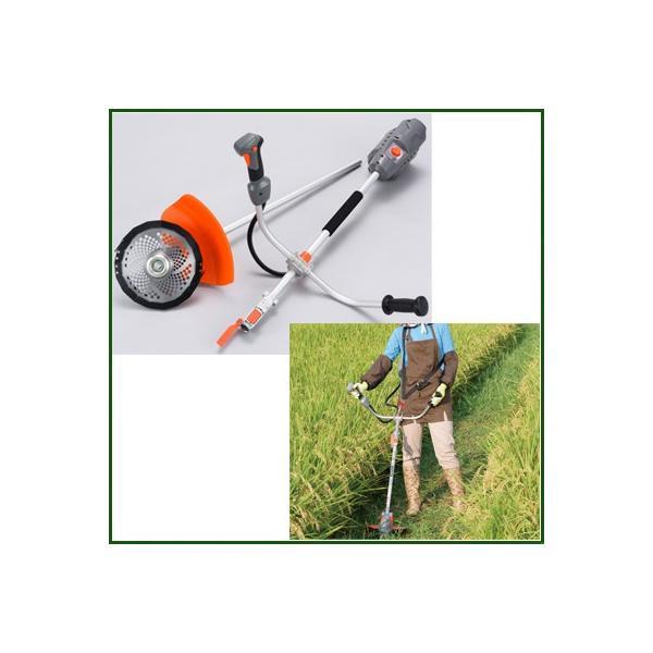 (工進) SBC-3625 充電式草刈機 刈払機 (両手ハンドル)|agriz|02