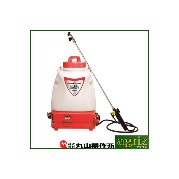 噴霧器 電動 噴霧器 丸山製作所 バッテリー噴霧機 MSB110Li きりひめ(充電式・背負式・動噴)